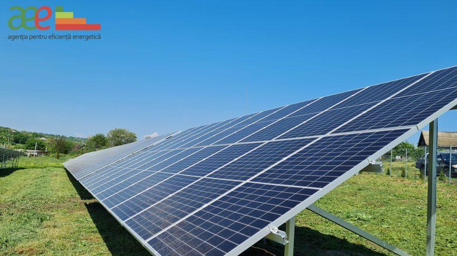 În satul Feștelița, raionul Ștefan Vodă a fost construit un parc fotovoltaic