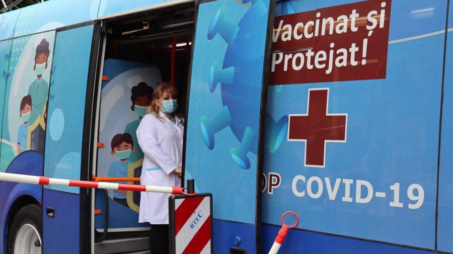 Unde vor staționa astăzi, 21 iunie, punctele mobile de vaccinare