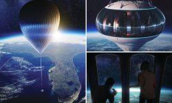De vânzare: 125.000 $ pentru excursii cu balonul până la limita de jos a cosmosului. Zborul de test deja a avut loc