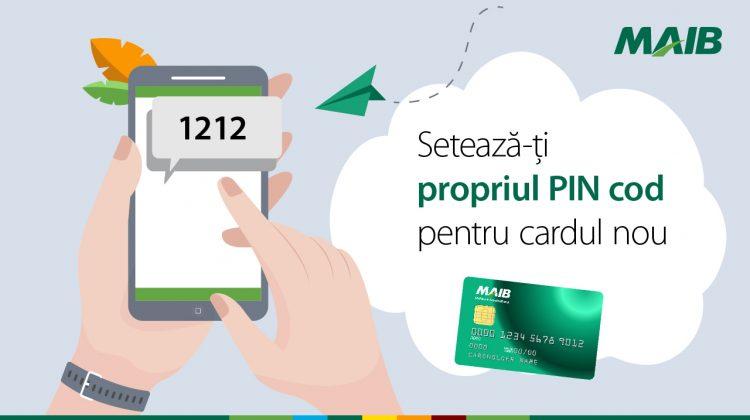 Setează-ți independent PIN-ul pentru LiberCard, Visa Classic Avanti și Mastercard World Elite