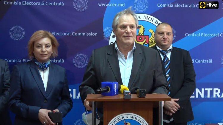 """(VIDEO) Încă un partid a fost înregistrat de CEC în cursa electorală! Este vorba de """"Partidul Legii și Dreptății"""""""