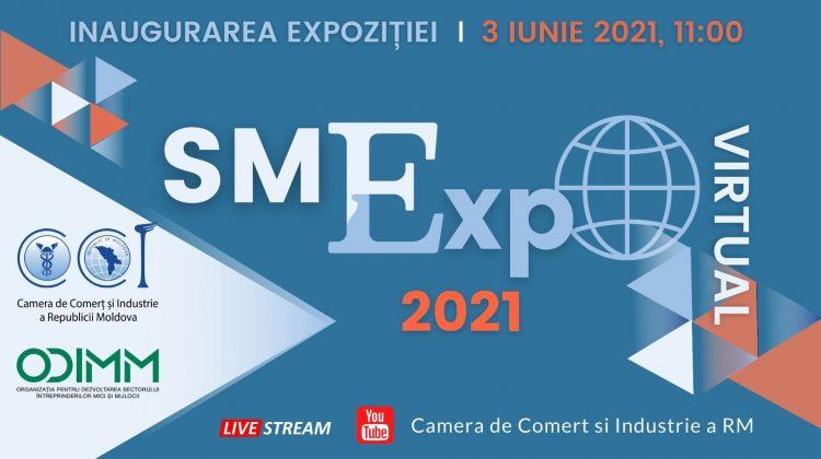 """CCI a RM și ODIMM inaugurează Expoziția Virtuală """"SMExpo 2021"""". Când va avea loc evenimentul"""