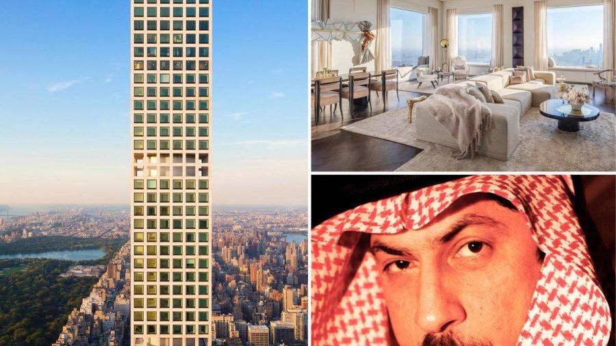 Acest multi-miliardar din Arabia Saudită vrea să facă 82.000.000 $, doar din vânzarea acestui penthouse luxos. FOTO