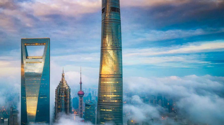 """""""Luxul din nori"""": a fost inaugurat cel mai înalt hotel din lume! Unele camere pot fi închiriate cu prețuri astronomice"""
