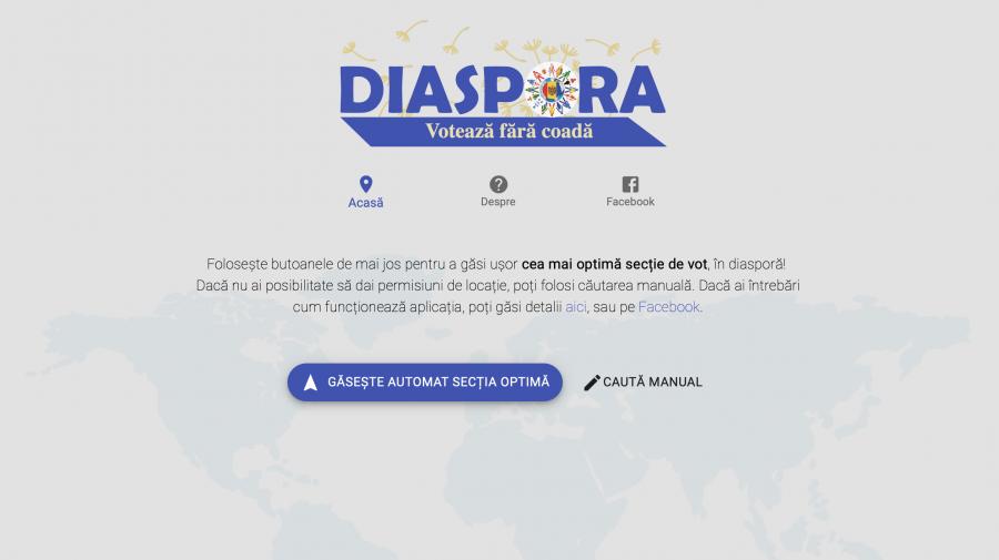 VOTEAZA-FARA-COADA.EU: Diaspora poate afla online care ți-e cea mai comodă secție de votare pentru a nu sta în rând