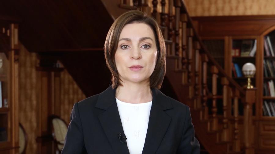 (VIDEO) Președintele Maia Sandu îndeamnă cetățenii să iasă la vot pe 11 iulie: Să scoatem țara din strânsoarea hoților