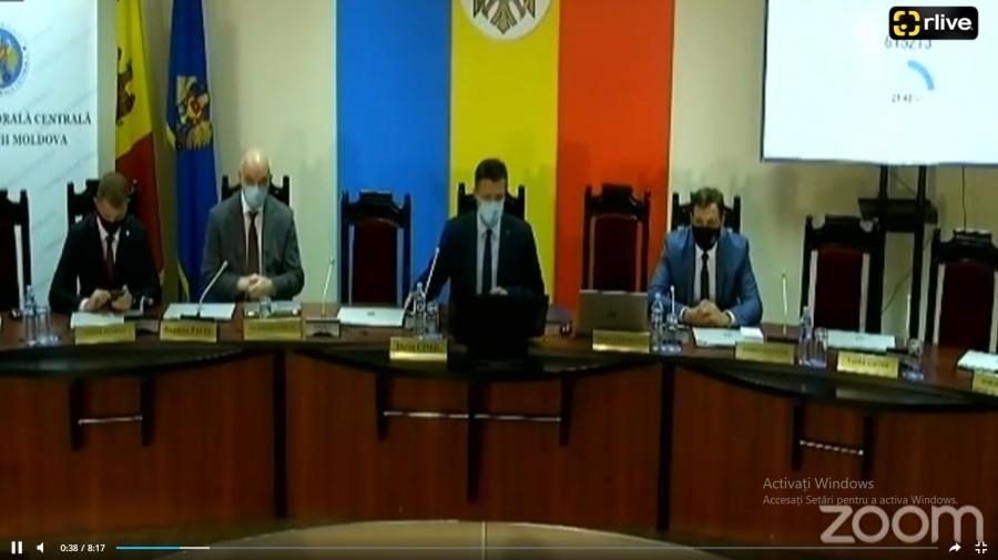 (VIDEO) O secție de votare din Florești, deschisă cu întârziere din cauza internetului. Explicația CEC
