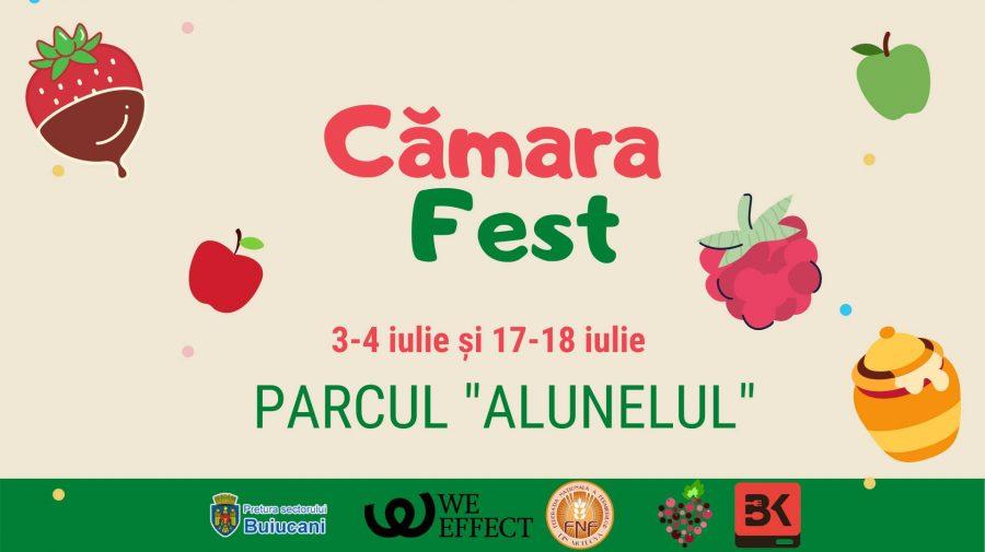 În weekend sunteți așteptați la Cămara Fest în parcul Alunelul! Să susținem producătorii locali