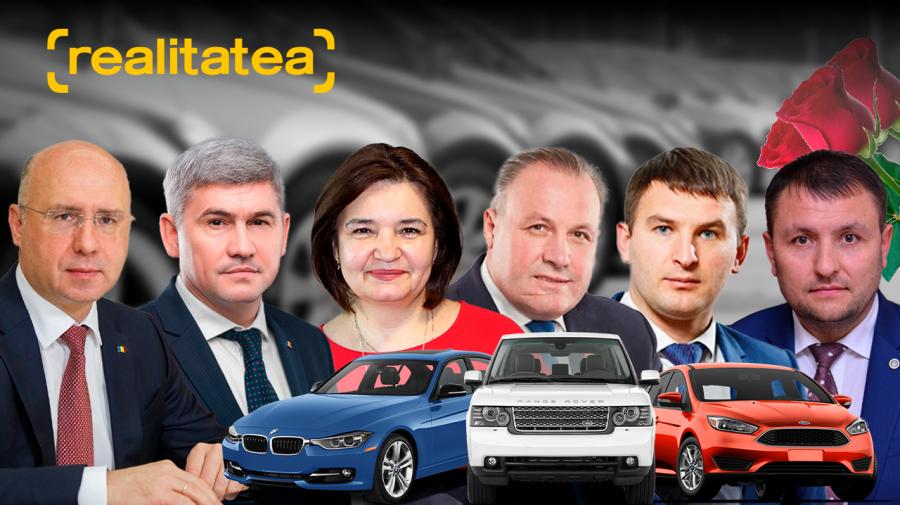 Ce mașini au primii șase candidați din partea Partidului Democrat din Moldova! Unii nu declară nici un automobil