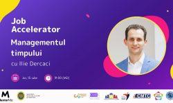 Managementul timpului cu Ilie Dercaci: cum să programezi eficient cele 24 de ore