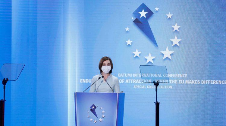 Perspectivele Parteneriatului Estic, discutate de Maia Sandu la Batumi