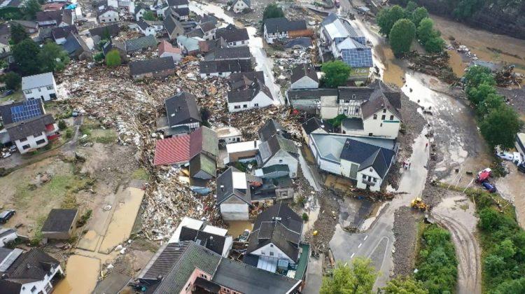 Ce buget a Guvernul Germaniei pentru regiunile devastate de inundații? O sumă uriașă