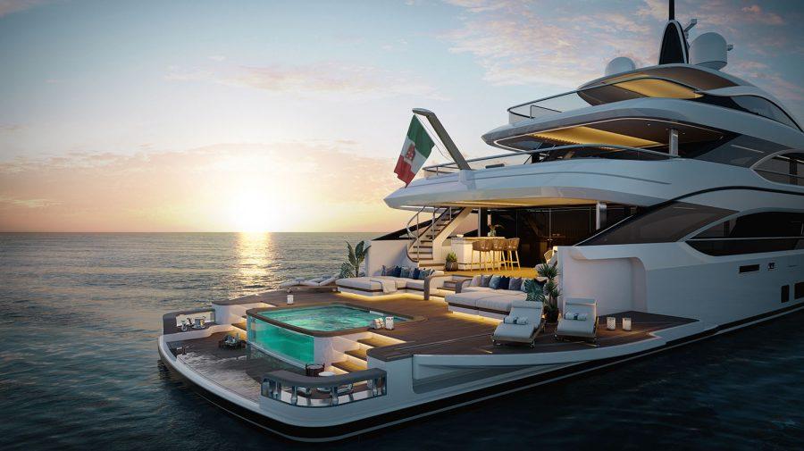 (FOTO) O nouă funcție de lux pentru superyachturi. Cum Benetti Yach crează un nou stil de viață prin Oasis Deck