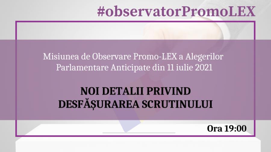 Promo-LEX, încălcări până la 19:00: Recompense materiale și bănești, transportarea alegătorilor și agitație electorală