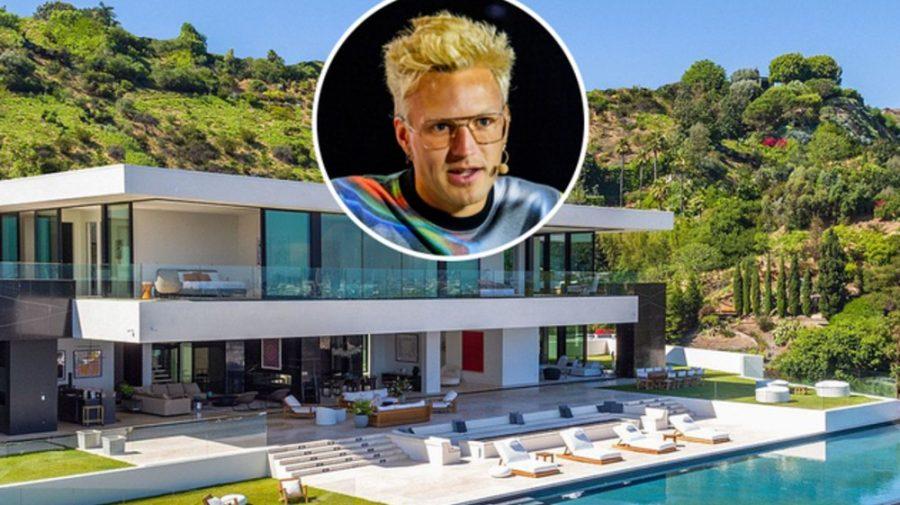 (FOTO) Regele crypto Olaf Carlson-Wee cumpără un conac de 28,5 milioane de dolari la Hollywood Hills! Arată bestial