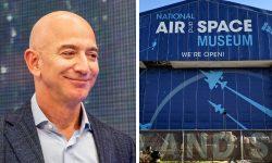 Jeff Bezos a oferit 200 de milioane $ Muzeului aerian și spațial al Smithsonianului. Cea mai mare donație a instiuției