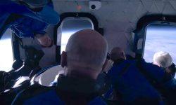 """Oaspetele lui Jeff Bezos a descris experiența scurtă și aglomerată de zbor spațial: """"Nu era suficient loc"""""""