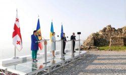 Aderarea la UE – un obiectiv comun pentru Moldova, Georgia și Ucraina. A fost semnată o declarație!