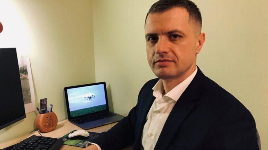 Alexandru Casap despre drone în agricultură. Cum tehnologiile digitale îi ajută pe fermieri să-și eficientizeze munca