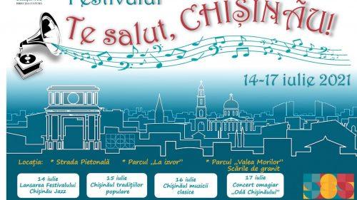 """""""Te salut, Chișinău"""" – un festival de muzică în parcurile Capitalei. Agenda evenimentului"""