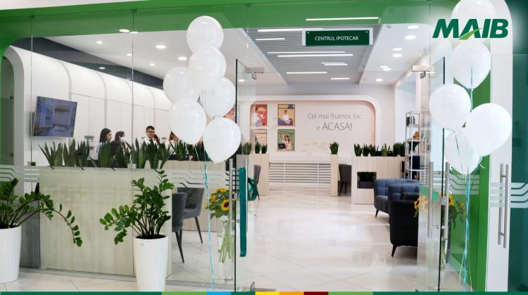 Cel mai frumos loc e ACASĂ! În Chișinău a fost inaugurat Centrul Ipotecar MAIB