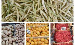 (FOTO) Profitați de fructele și legumele de sezon! Prețurile afișate astăzi la Piața Centrală