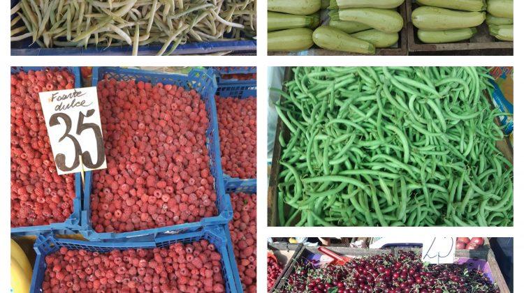 (FOTO) Castraveții – mai ieftini! Prețurile la Piața Centrală pentru fructe și legume