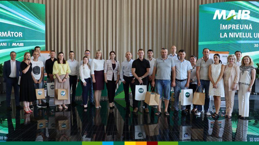"""Au fost premiați 16 câștigători ai promoției """"Credite pentru tehnică"""" organizată de MAIB"""