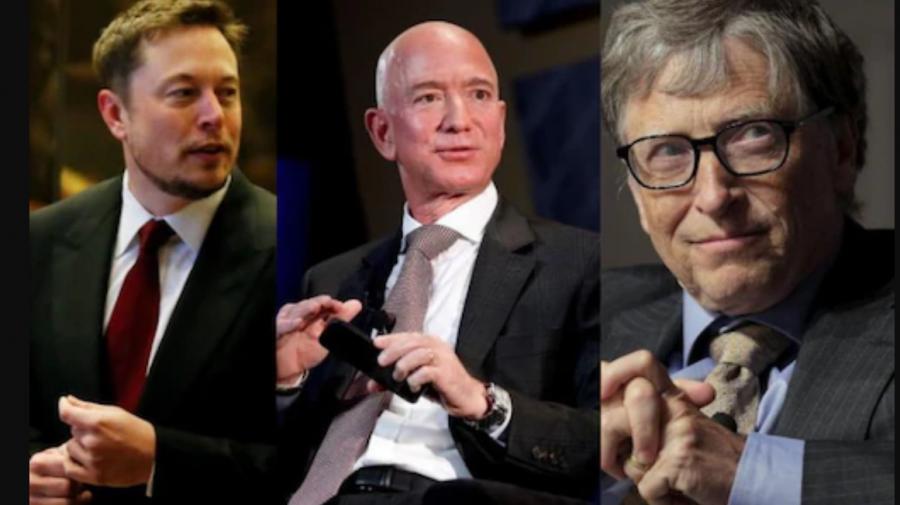 Bezos făcea burghere, iar Elon Musk vinde jocuri video: primele locuri de muncă ale miliardarilor mondiali