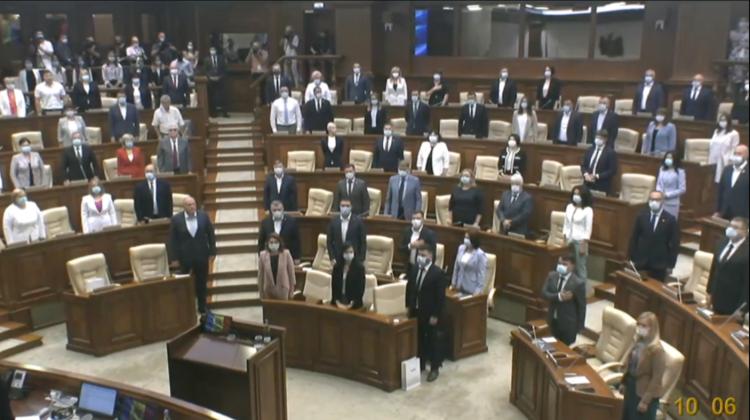 Unii deputați lipsesc de la constituirea noului Parlament. Prezenți la ședință: Maia Sandu, ambasadori, membri CEC, CCM