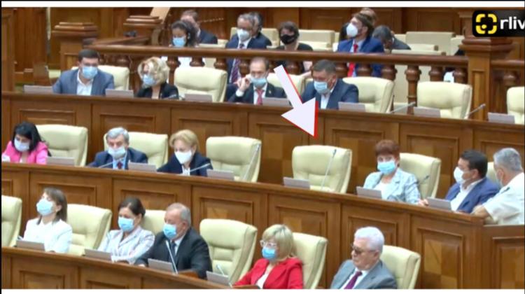 (FOTO) Igor Dodon a chiulit de la prima ședință a Parlamentului. Nu a fost observat în sala Legislativului