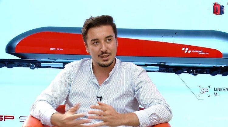 Swisspod, start-up-ul unui român premiat de Elon Musk, lansează primul spațiu de testare hyperloop în Europa
