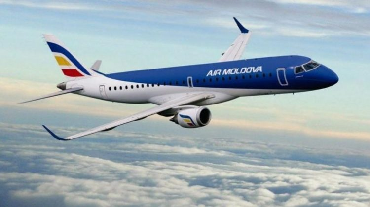 Motive militare! Air Moldova a anulat cursa Chișinău – Tel Aviv de astăzi