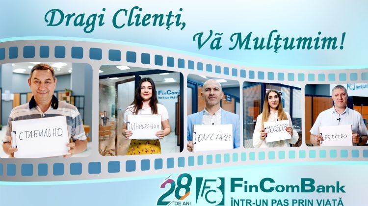 """Surprize pentru toți Clienții FinComBank în cadrul campaniei """"Clientul mulțumit"""""""