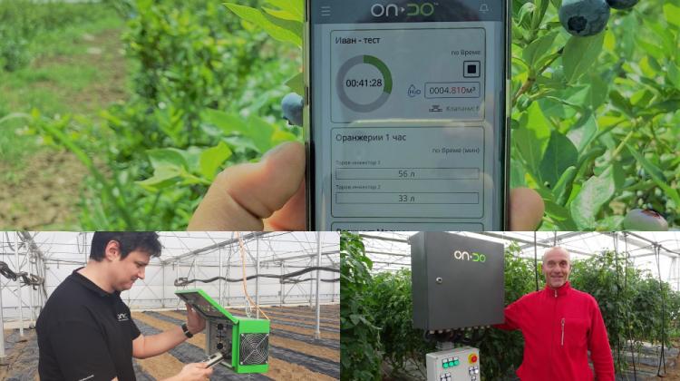Un startup bulgar face sisteme de irigații asistate de aplicație mobilă. 15 ferme folosesc deja soluțiile inteligente