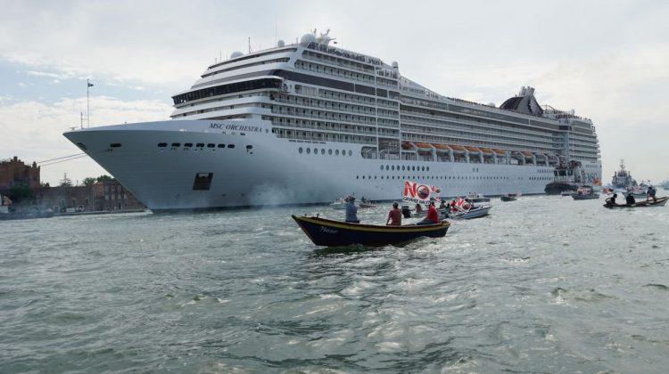 Marile nave de croazieră, interzise în centrul Veneției din august! Cum pun în pericol lagunele venețiene