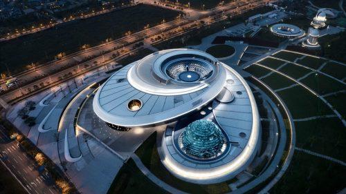Cel mai mare muzeu de astronomie din lume urmează să se deschidă în Shanghai (FOTO)