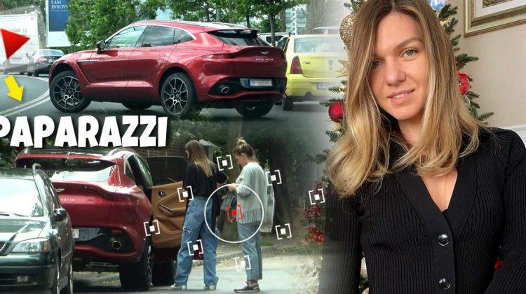 Aston Martin pentru Simona Halep: Tenismena română și-a luat o mașină nouă în cinstea logodnei