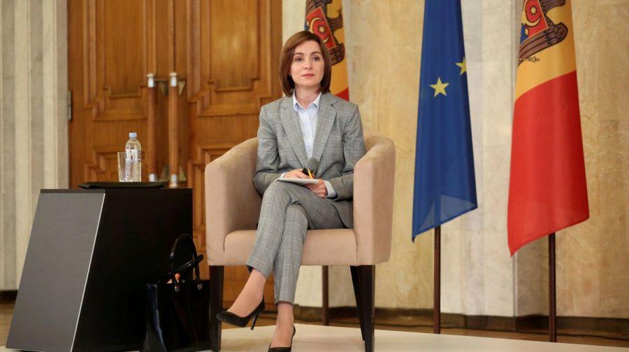 Maia Sandu: trebuie să ajutăm businessul să depășească mai ușor criza economică și să ajutăm oamenii cu venituri mici