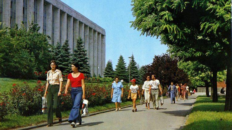 Reportaj FOTO: Cum arăta Chișinăul la începutul anilor '80! S-au schimbat atât de multe