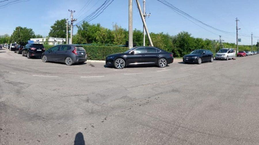 Alertă în vămi! Zeci de mașini blocate din cauza unei erori tehnice (FOTO)