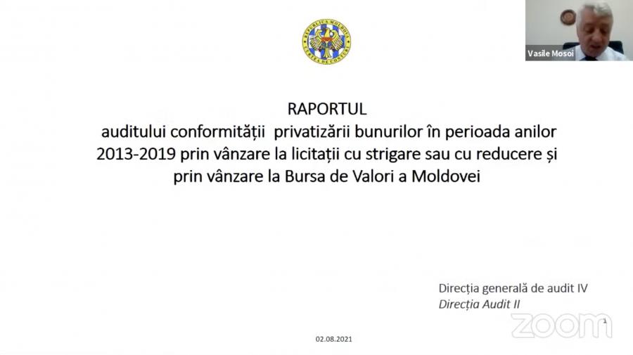 Cum s-au privatizat bunurile Moldovei timp de 7 ani. CCRM a scos la iveală mai multe neconformități