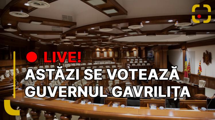 Urmărește LIVE învestirea Guvernului Gavrilița, pe R LIVE TV și RLIVE.MD