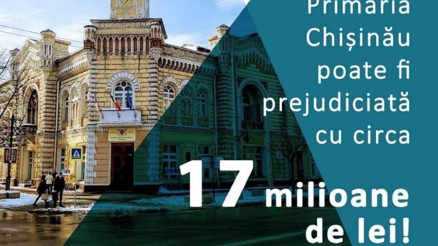 Ion Ceban, apel către instituțiile statului: Stopați deposedărea ilegale a bugetului municipal de 17milioane de lei
