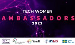 Devino Ambasadoare Tech Women! Înscrie-te la programul care inspiră fetele și femeile să aleagă o carieră în IT