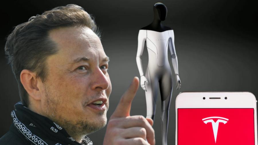 """(VIDEO) Elon Musk anunță """"Tesla bot"""", un robot """"prietenos"""" care va îndeplini sarcini pe care doar oamenii le pot face"""
