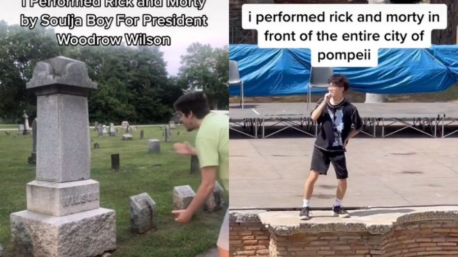 """Un nou trend pe TikTok! TikTokerii interpretează """"Rick and Morty"""" de Soulja Boy la mormintele unor oameni celebri"""