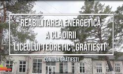 Istorii de succes: Reabilitarea energetică a clădirii Liceului Teoretic din com. Grătiești, mun. Chișinău