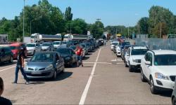 PTF Leușeni, rămas fără internet! Se înregistrează flux mare de mașini. Responsabilii propun un alt punct de trecere