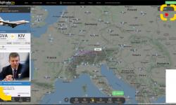 (FOTO) Kozak este în zbor spre Chișinău. Oficialul rus ar urma să aterizeze în Moldova, estimativ, la ora 17:15 minute